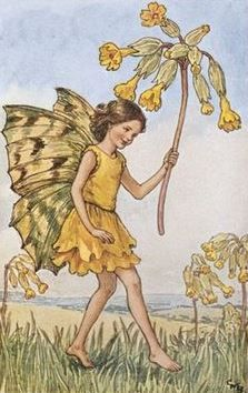 Cicely Mary Barker | The Cowslip Fairy
