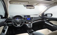 2015 Honda CR-V - Interior Photo Gallery - Official Site
