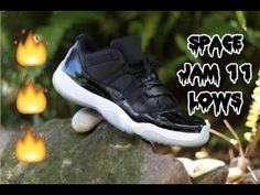 b479804576d21 Air Jordan Space Jam 11 Low Custom Time-Lapse!