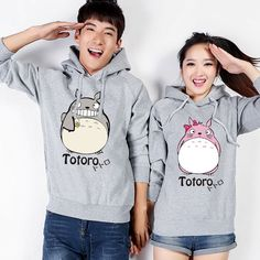 """Cute totoro hoodie jackets! omg, so adorable! get it at sanrense.com. and get 10% off your entire purchase with the code """"krissykitty"""""""
