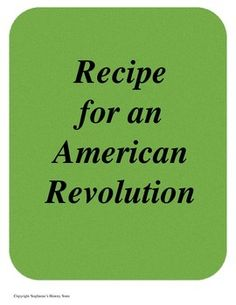 steps leading to the american revolution essay Teaching the american revolution presents a prime opportunity to instruct your students in the ways that  religion and the american mind,  to cite this essay.
