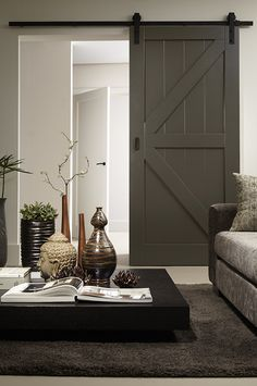 Diy Room Divider, Parents Room, Shutter Doors, First Home, Tall Cabinet Storage, Interior Design, Leiden, Inspiration, Furniture