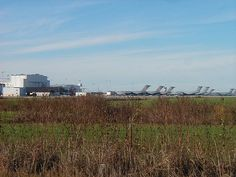 Altus, Oklahoma    Distant view of the Altus Air Force Base.