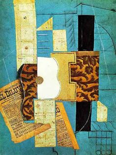 Picasso collage...
