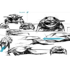 Old sketches from my Diploma project. It was fun to draw strange car…
