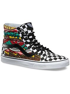 8180f378abc141 Vans Reissue Women US 85 Multi Color Skate Shoe     Find out more about the  great product at the image link.