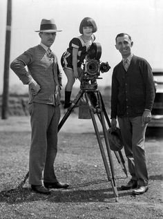 Here, Walt poses with Roy Disney and Alice star Margie Gay in the 1920s. Credit: Courtesy of the Walt Disney Archives Photo Library ©Disney