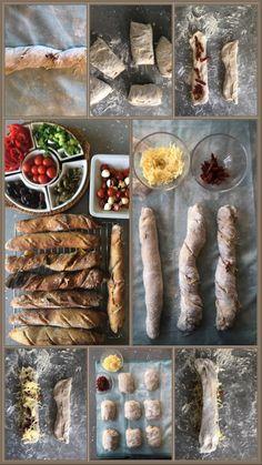 Unser Stimmungsmacher für den Mittelmeerurlaub ... mediterranes Frühstück mit Weißbrotstangen!