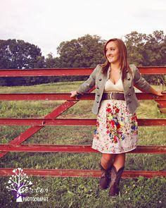 Senior Photos-- Rustic