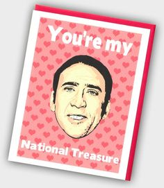 Funny Valentine s Day Card - Nicolas Cage Card - Funny Valentine - You ve  Caged My Heart - Valentine s Day Card - Nicolas Card - Nic Cage 9c4d12bd2437f