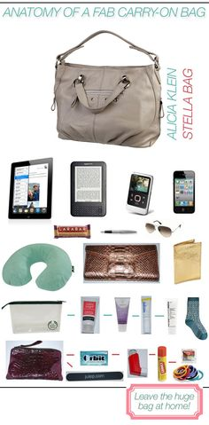 What's in my carry-on bag: The Stella Bag from Alicia Klein fit everything (and more) that I needed to entertain myself on a flight to and from Australia.