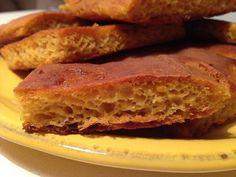 Dal ricettario di Roberta: Focaccia alla zucca senza glutine e senza lattosio...