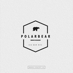 polar bear logo More