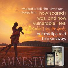 Amnesty (Amnesia #2) by Cambria Hebert