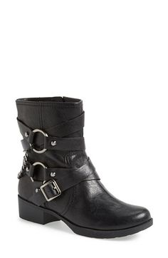 Jessica Simpson 'Goldi' Moto Bootie (Women) available at #Nordstrom