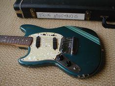 Kurt Cobain's 1969 Fender Mustang.