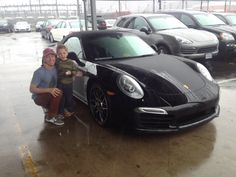 Very happy MyCarMonday to this family and their new Porsche 911 Turbo. Enjoy the road sir and welcome to the Porsche of Arlington family! #mycarmonday #mcm #newride #neuwagen #Porsche #Turbo #herkunftdessportwagens