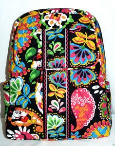 5eaba6f09a NEW VERA BRADLEY DISNEY MIDNIGHT WITH MICKY small backpack purse Small  Backpack
