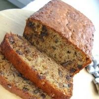 Banana Bread With Chocolate Chips And Walnuts Recipe recipe from Bon Apetit