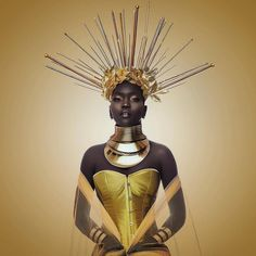 In every woman there is a queen so when they forget, sometimes you just have to throw on your crown and remind them who they're dealing Glam Photoshoot, Photoshoot Themes, Photoshoot Inspiration, Black Women Art, Beautiful Black Women, Black Art, Afro Punk Fashion, Black Royalty, African Theme