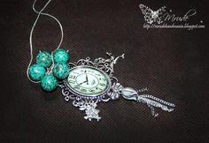 Necklace - turkus, calaite
