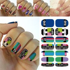 Easy to use, High Quality Nail Art Decal Stickers For Every Occasion! Ideal  Christmas