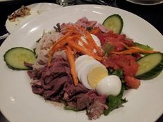 George's Chef Salad at 24 Seven Cafe inside Palms Casino Resort in Las Vegas