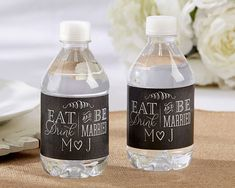 Custom Water Bottle Labels for Wedding by PaintTheDayDesigns   12 00    wedding   Pinterest   Label for  Bottle and WaterCustom Water Bottle Labels for Wedding by PaintTheDayDesigns  . Diy Wedding Water Bottle Labels. Home Design Ideas