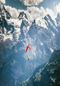 Paragliding in Dolomites , Italy  #paragliding #dolomites #italyphotography
