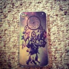 Galaxy dream catcher iPhone case