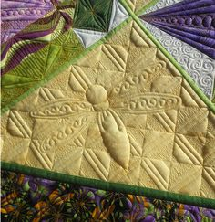 What a Hoot!: Double Finish Report! ~~ Dragonfly Party 1 and 2 - a very special pair of quilts