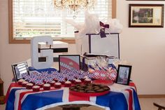 London-themed Bridal Shower for my sister!