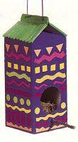 Milk Carton Bird House