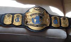 WCW 1992 world heavyweight title belt.