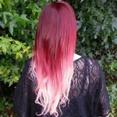 Fall Into Red Ombre