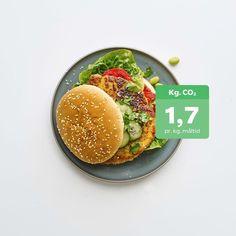 Burger - Lækker vegetar burger