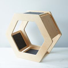 Wall-Mounted Hexagonal Cat Scratcher on Provisions by Food52
