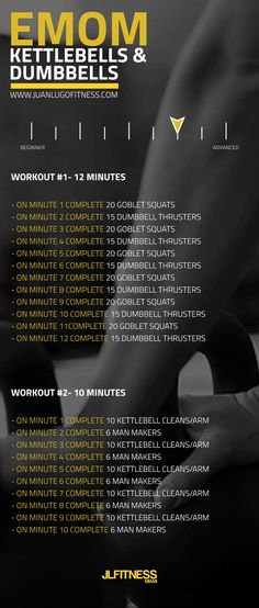 #dumbbells #kettlebells #workout #hiit