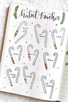Check out the best December habit tracker ideas and spreads for inspiration! #bujo #bulletjournal #habittracker #bujospread