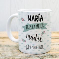 Taza para la mejor madre y abuela a la vez #taza #abuela #madre