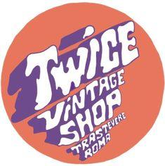 TWICE VINTAGE SHOP Vintage Shops, Company Logo, Logos, Shopping, Logo, Vintage Stores