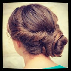 How to Create an Easy Twisted Updo  Hairstyles