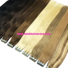 Wholesale Human Hair Tape In Hair Extensions Indian Hairstyles, Weave Hairstyles, Mink Brazilian Hair, Hair Tape, Tape In Hair Extensions, Body Wave Hair, Malaysian Hair, Peruvian Hair, 100 Human Hair