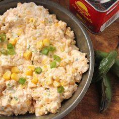 Smoky Corn and Jalapeno Dip