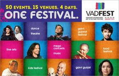 Dance, music, theatre, arts and more - all in #Vadodara! Click on the image to book your tickets for the #Vadfest,