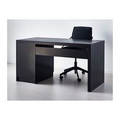 MALM Desk - black-brown - IKEA Article #002.141.57 $159.00