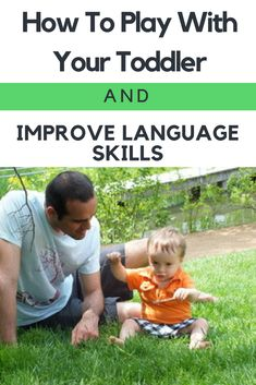 Tips on how to play with toddler and help develop speech and language skills at the same time! Speech Therapy Activities, Language Activities, Infant Activities, Learning Activities, Family Activities, Learning Toys For Toddlers, Toddler Learning, Early Learning, Learning Time
