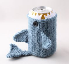 Monster Shark Drink Cozy awesome!