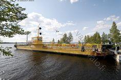 Alassalmen lossi Manamansalossa - Kainuu Manamansalo. Oulunjärvi.