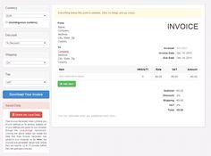 free invoice maker invoice generator invoice creator invoice
